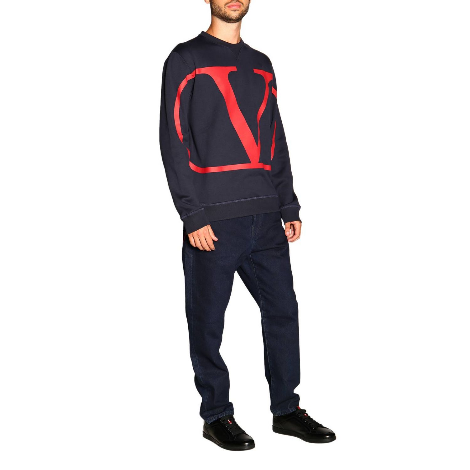Sweater men Valentino blue 2