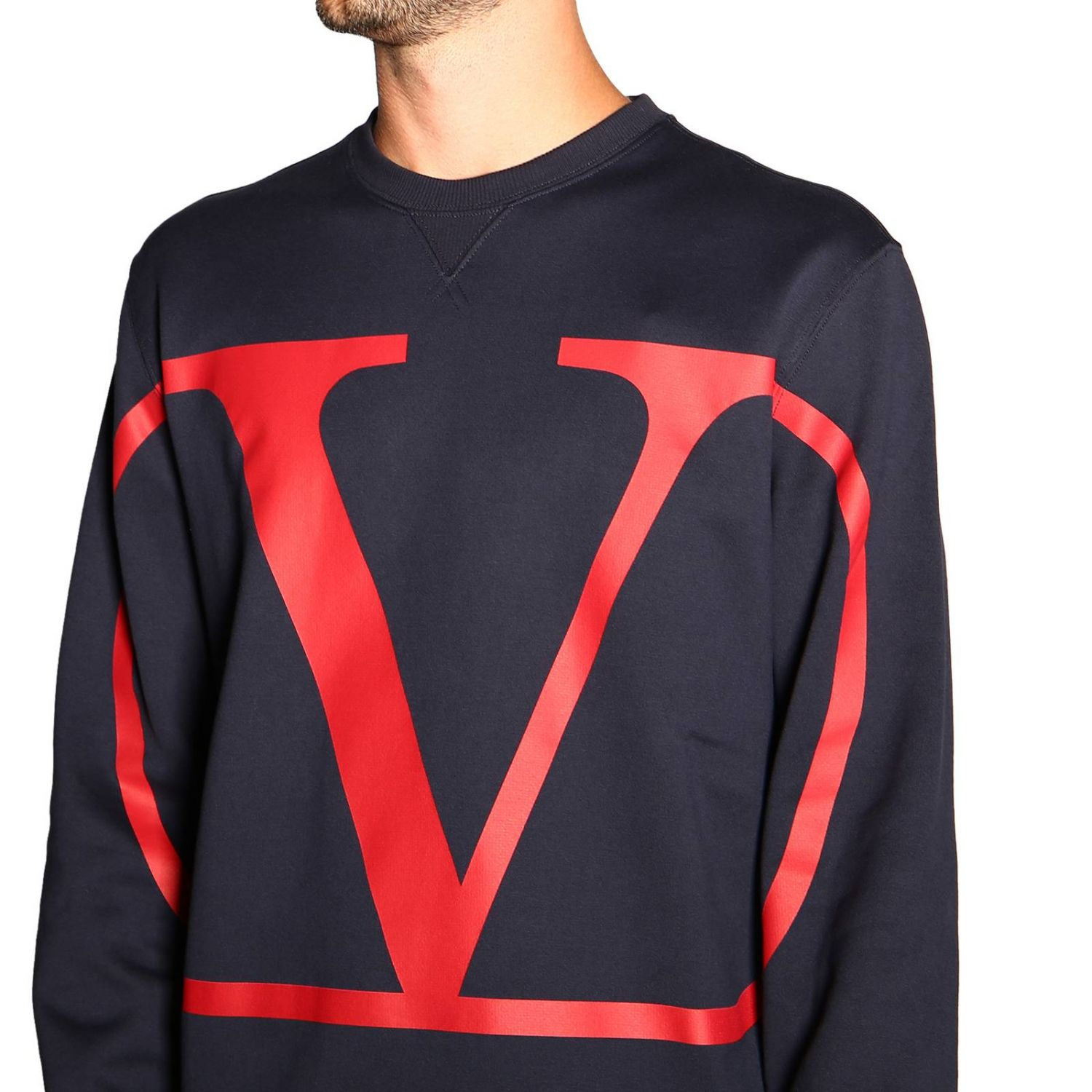 Sweater men Valentino blue 5