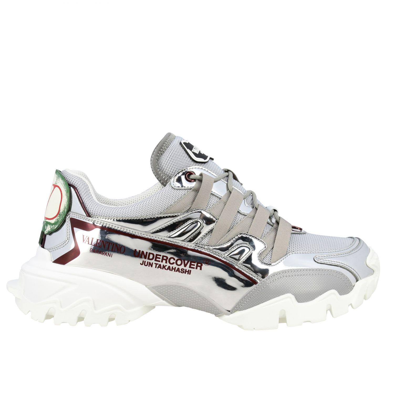 Trainers Valentino Garavani: Shoes men Valentino Garavani silver 1