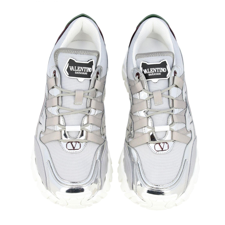 Trainers Valentino Garavani: Shoes men Valentino Garavani silver 3