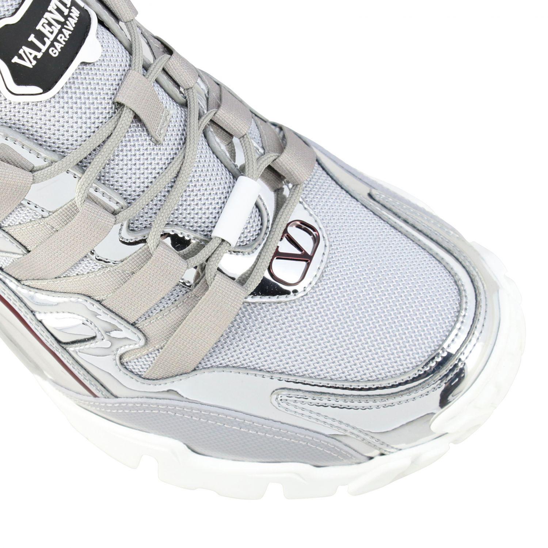 Trainers Valentino Garavani: Shoes men Valentino Garavani silver 4