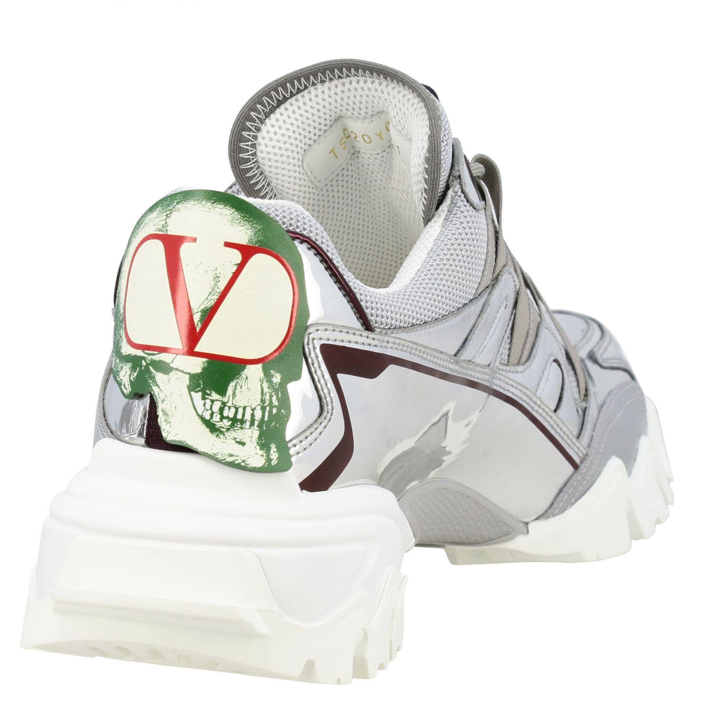Trainers Valentino Garavani: Shoes men Valentino Garavani silver 5