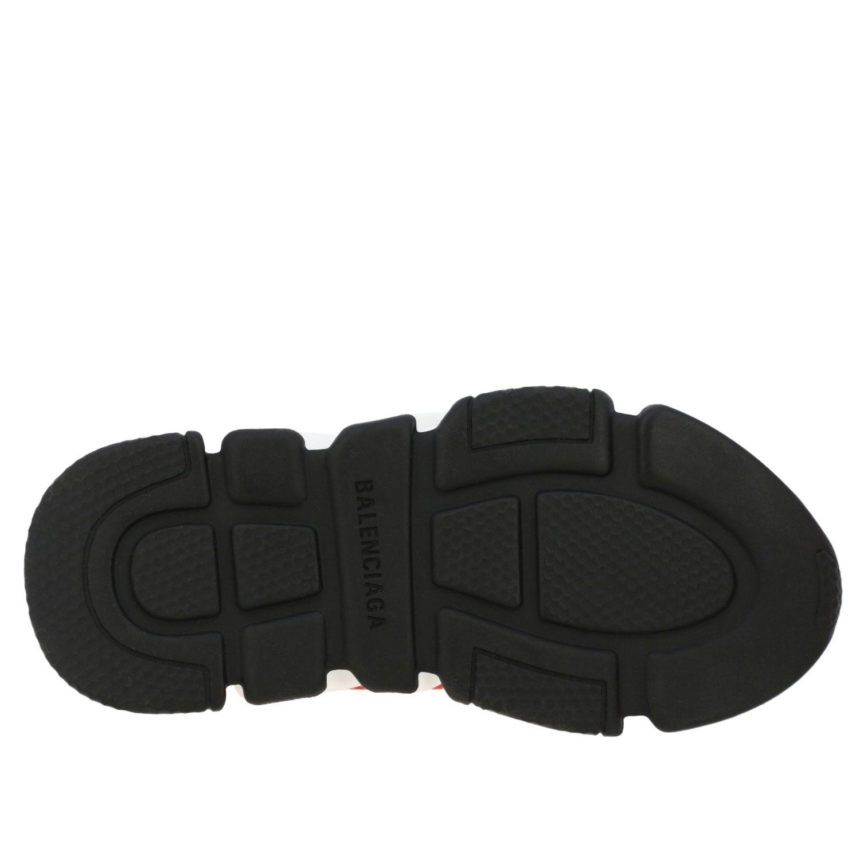 鞋履 Balenciaga: Balenciaga Running Speed 科技面料logo印花运动鞋 红色 6