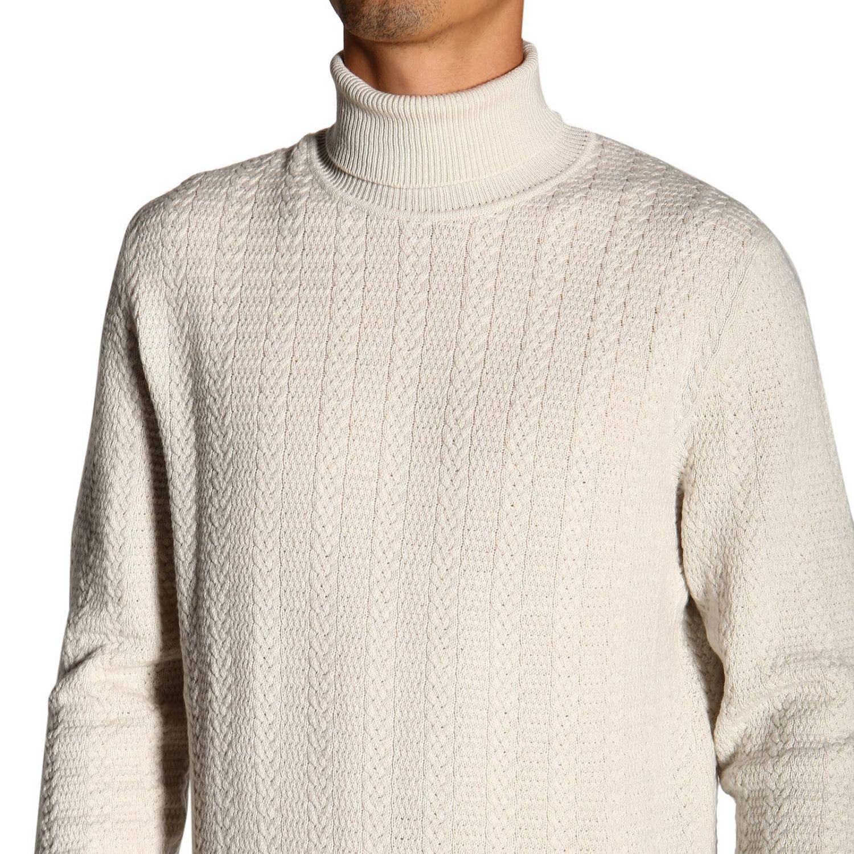 Dolcevita Ermenegildo Zegna basic a maniche lunghe in cashmere bianco 4