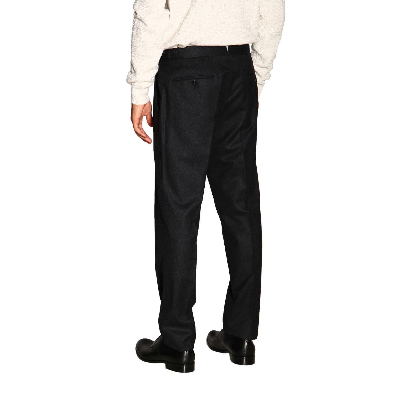 Trousers Ermenegildo Zegna: Trousers men Ermenegildo Zegna charcoal 3