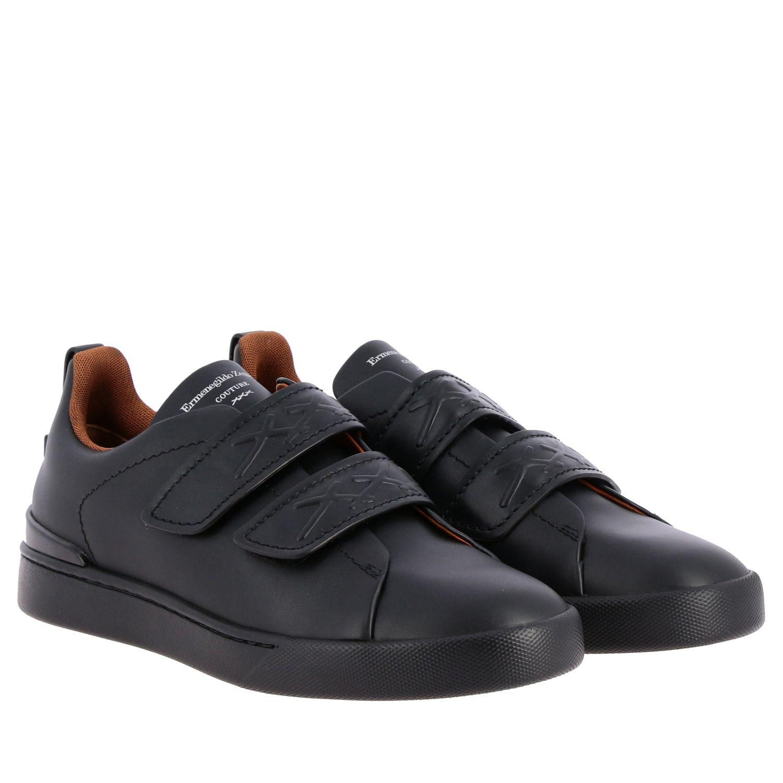 Trainers Ermenegildo Zegna: Shoes men Ermenegildo Zegna black 2