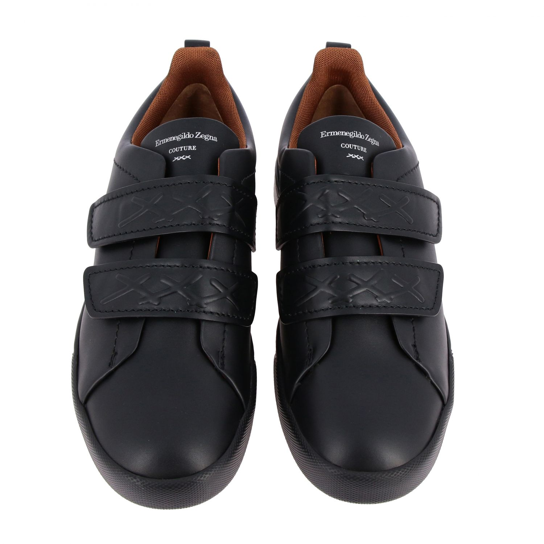 Trainers Ermenegildo Zegna: Shoes men Ermenegildo Zegna black 3