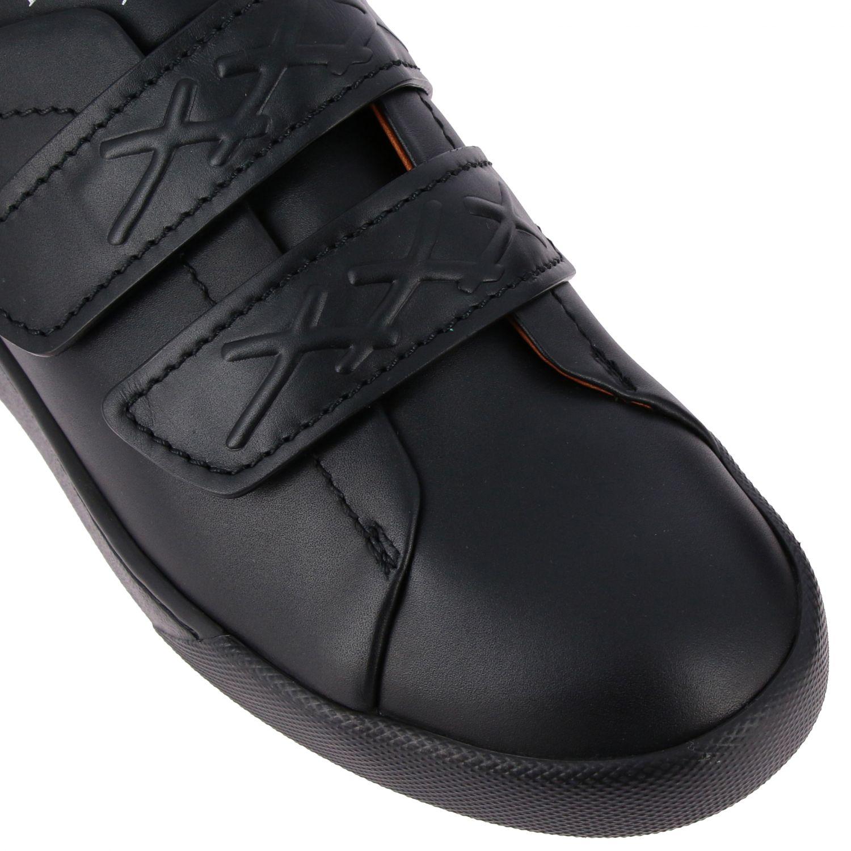 Trainers Ermenegildo Zegna: Shoes men Ermenegildo Zegna black 4
