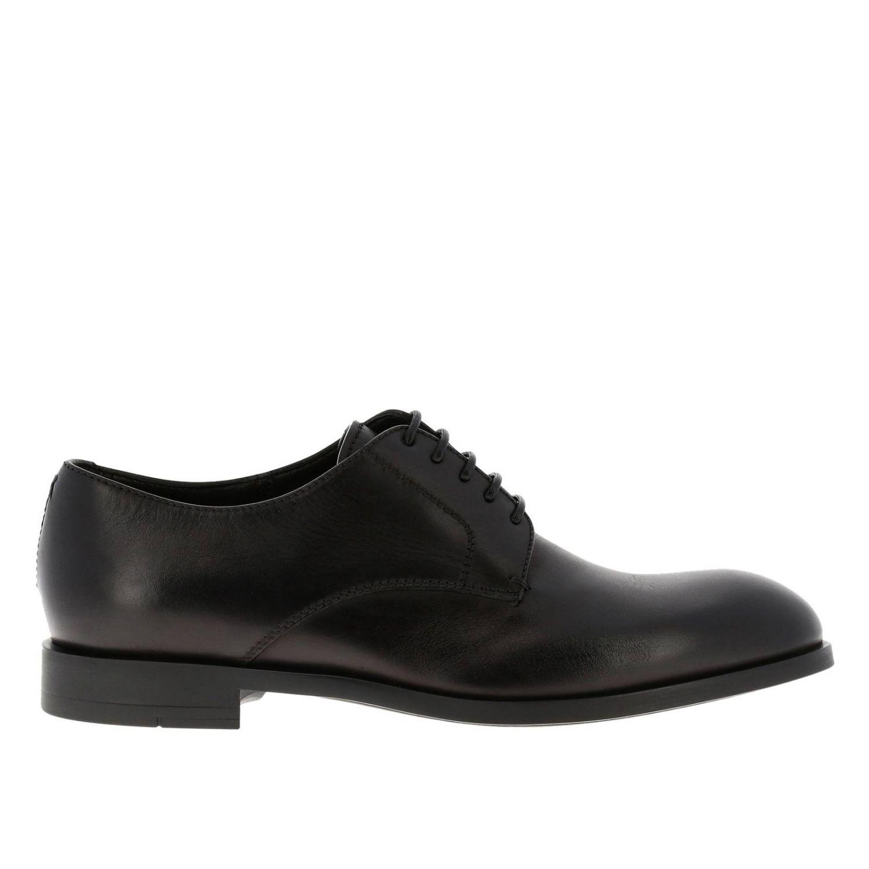 Brogue shoes Ermenegildo Zegna: Shoes men Ermenegildo Zegna black 1