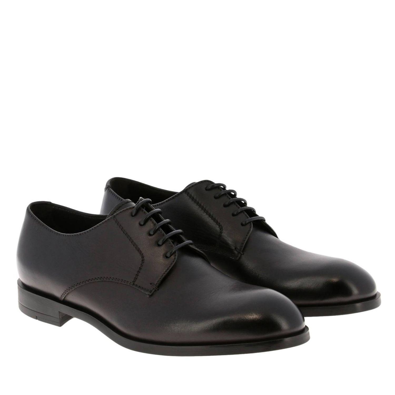Brogue shoes Ermenegildo Zegna: Shoes men Ermenegildo Zegna black 2