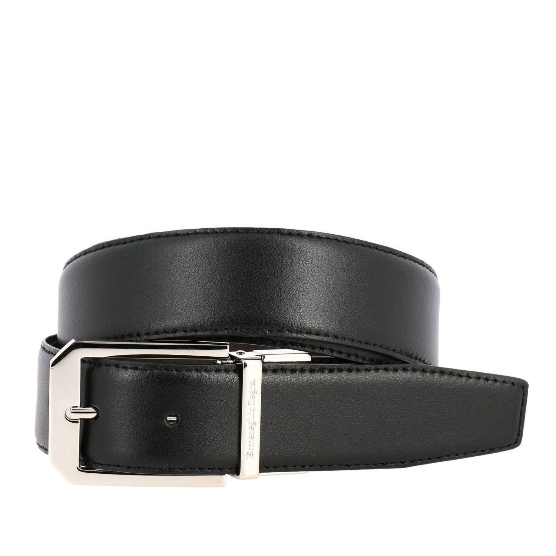 Belt Ermenegildo Zegna: Belt men Ermenegildo Zegna black 1