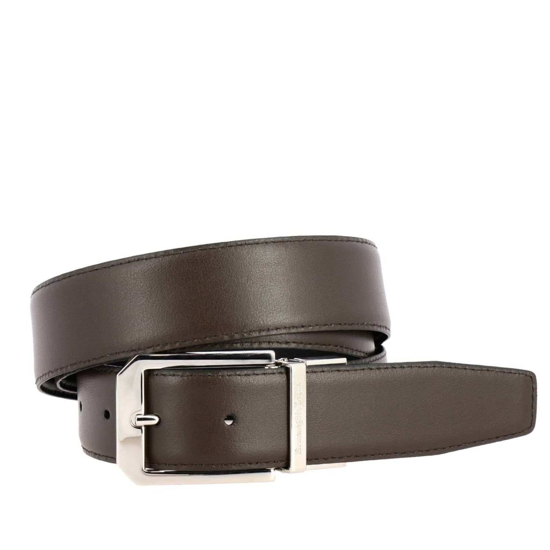 Belt Ermenegildo Zegna: Belt men Ermenegildo Zegna black 2