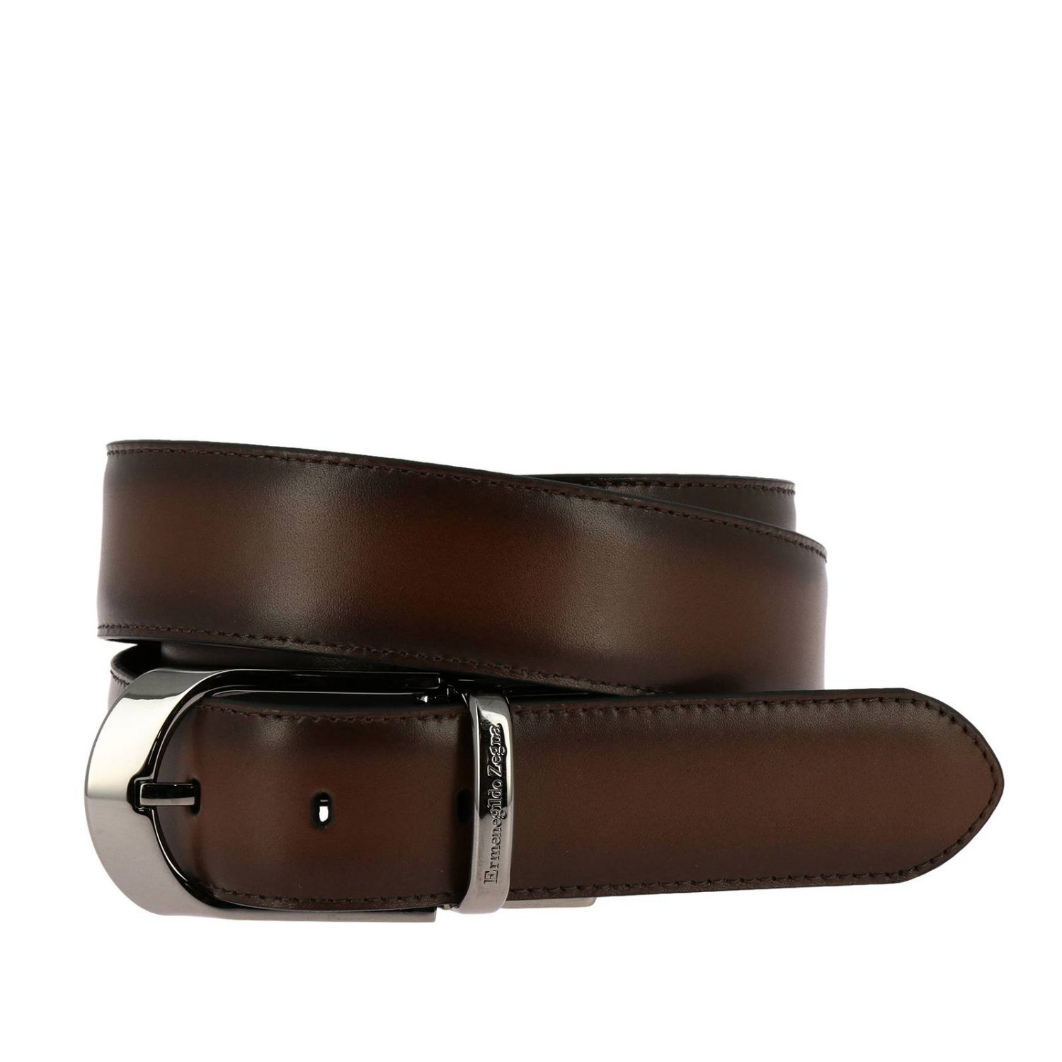 Belt Ermenegildo Zegna: Belt men Ermenegildo Zegna black 1