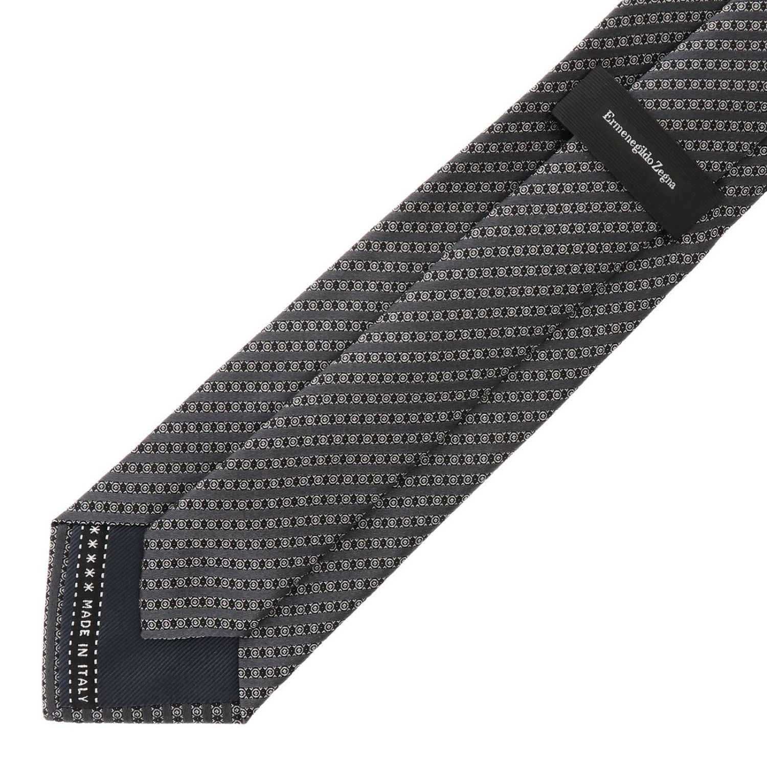 Tie men Ermenegildo Zegna grey 2