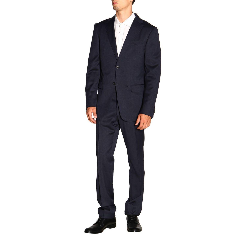 Costume Z Zegna: Costume homme Z Zegna bleu marine 4