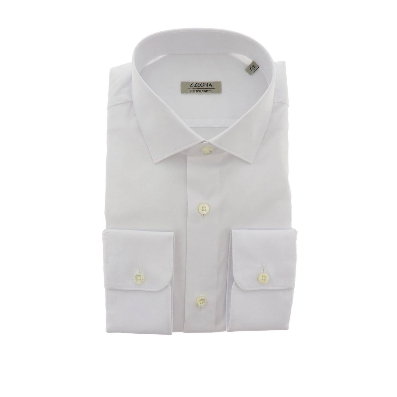 Chemise homme Z Zegna blanc 1