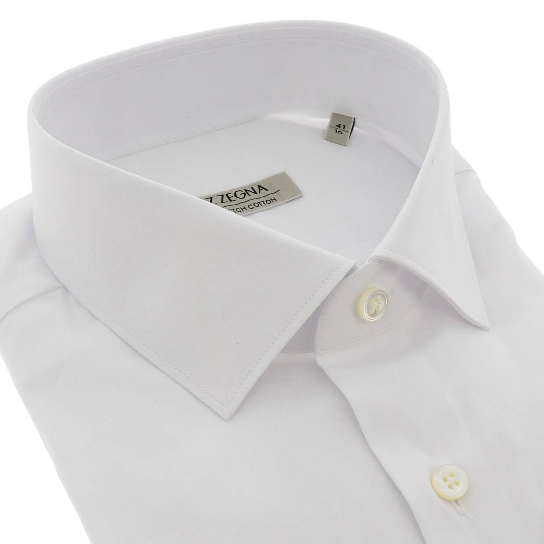 Chemise homme Z Zegna blanc 2