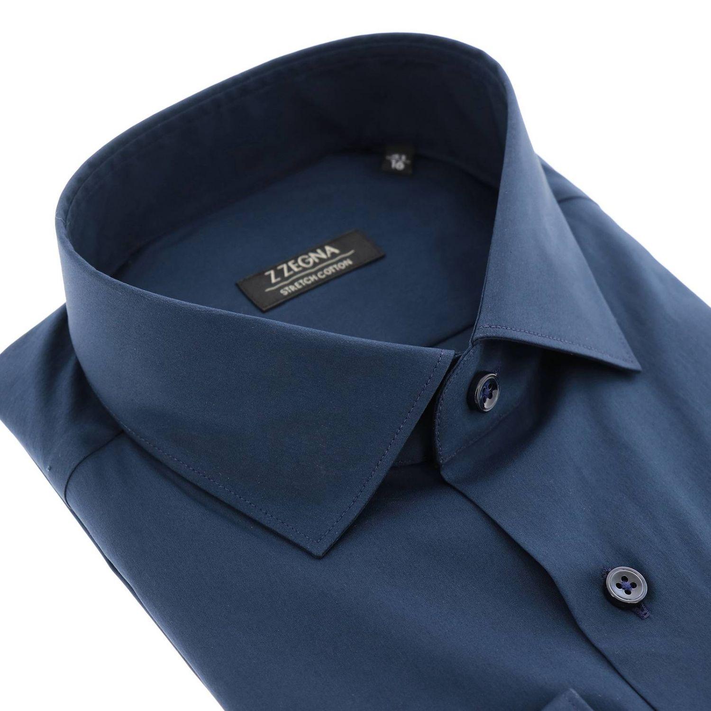 Рубашка Z Zegna: Рубашка Мужское Z Zegna синий 2