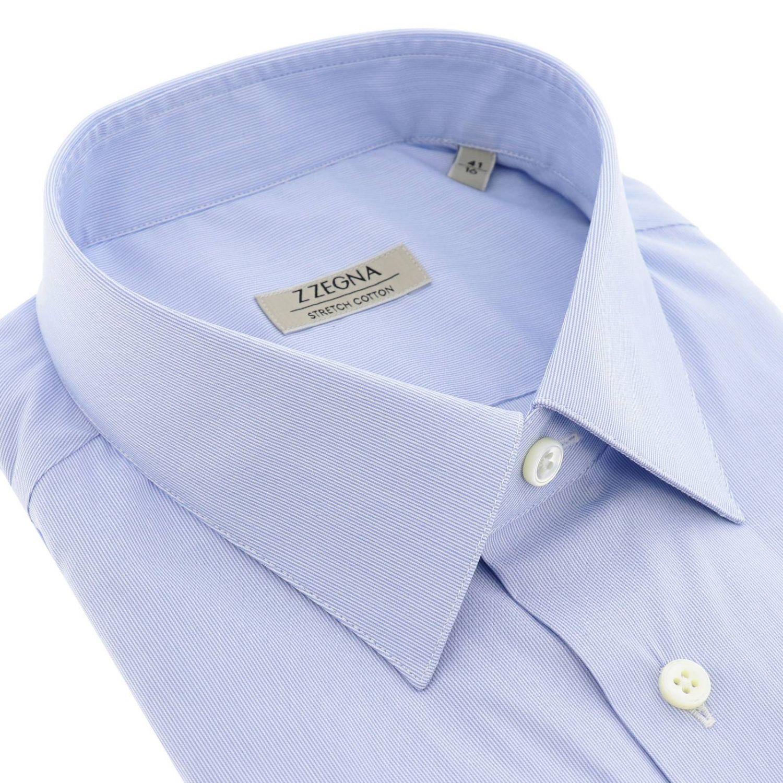 Рубашка Z Zegna: Рубашка Мужское Z Zegna голубой 2