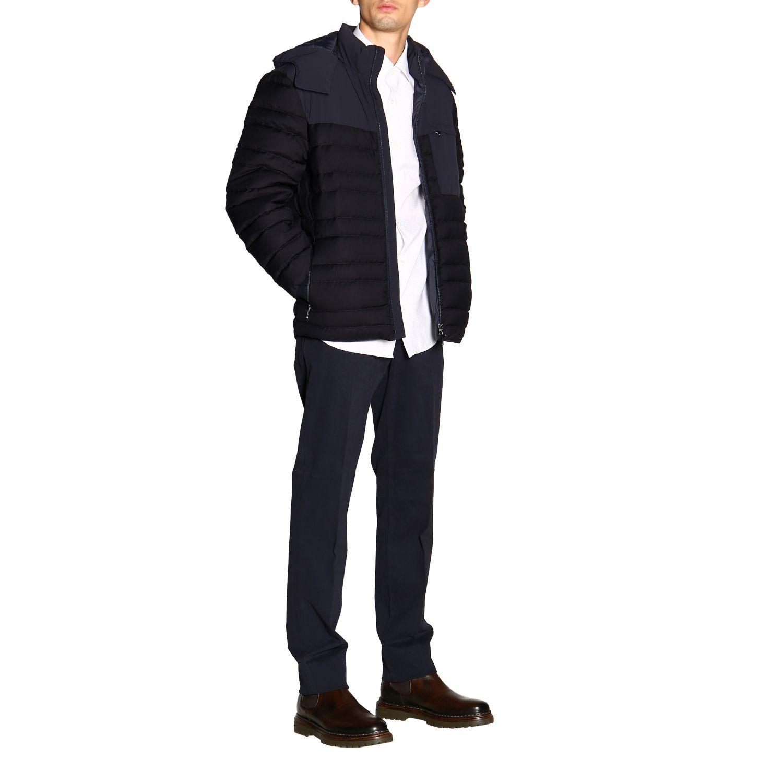 Camisa Z Zegna: Camisa Alessio Z Zegna con cuello francés de micro lunares blanco 2