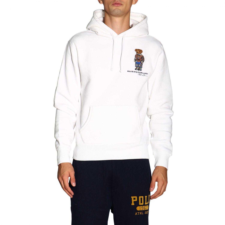 Свитер Polo Ralph Lauren: Толстовка Polo Ralph Lauren с капюшоном белый 1