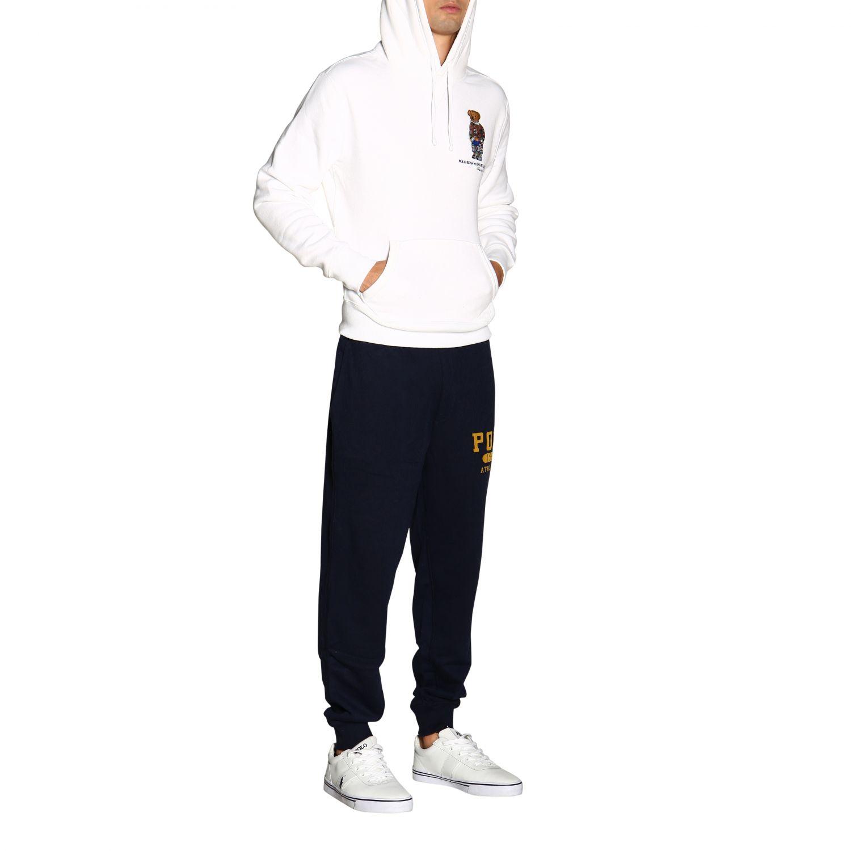 Свитер Polo Ralph Lauren: Толстовка Polo Ralph Lauren с капюшоном белый 2