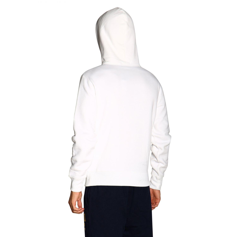 Свитер Polo Ralph Lauren: Толстовка Polo Ralph Lauren с капюшоном белый 3