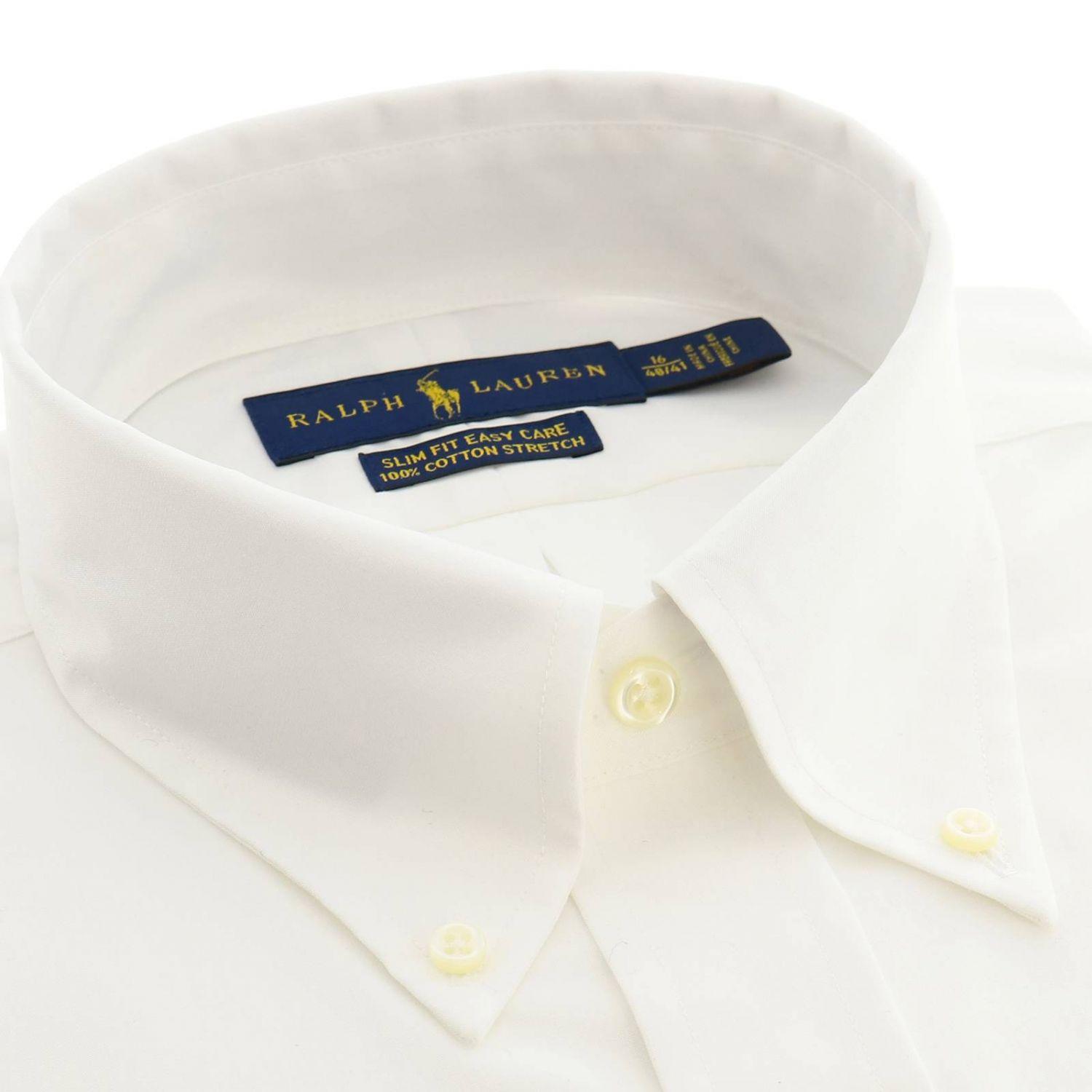 Рубашка с воротничком button down и логотипом Polo Ralph Lauren белый 2