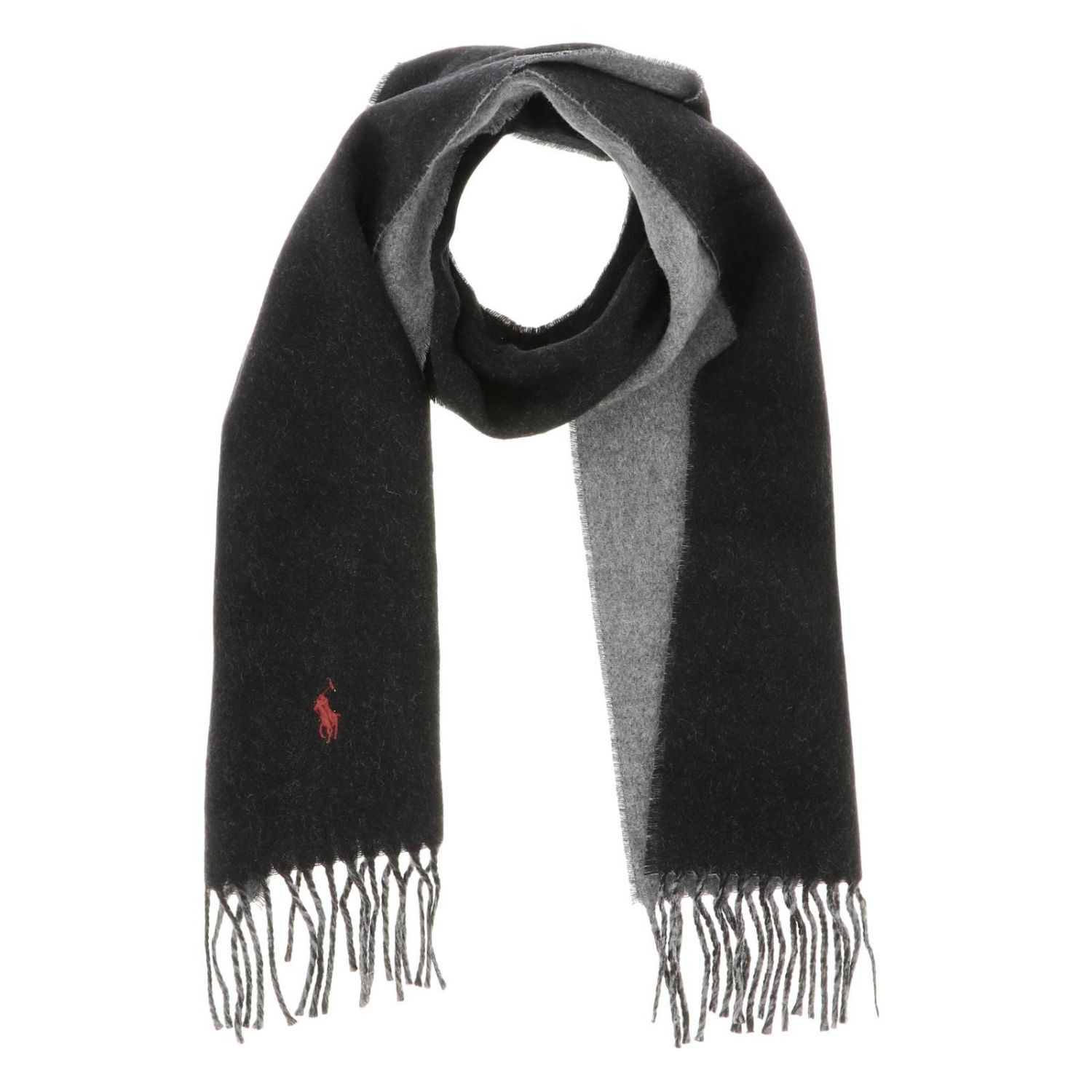 Scarf men Polo Ralph Lauren black 2