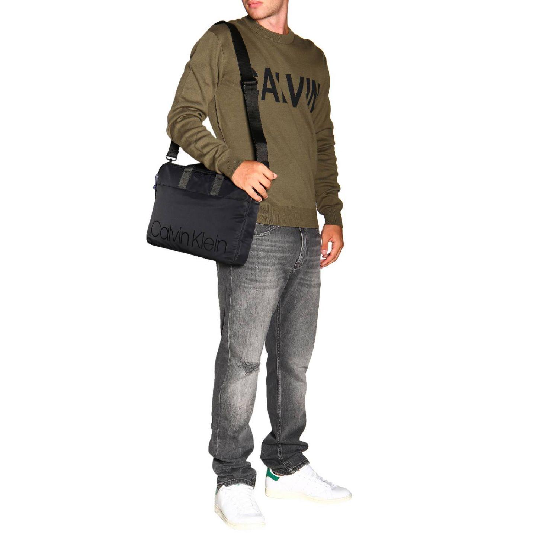 毛衣 男士 Calvin Klein Jeans 军绿色 2