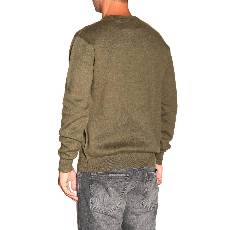 毛衣 男士 Calvin Klein Jeans 军绿色 3