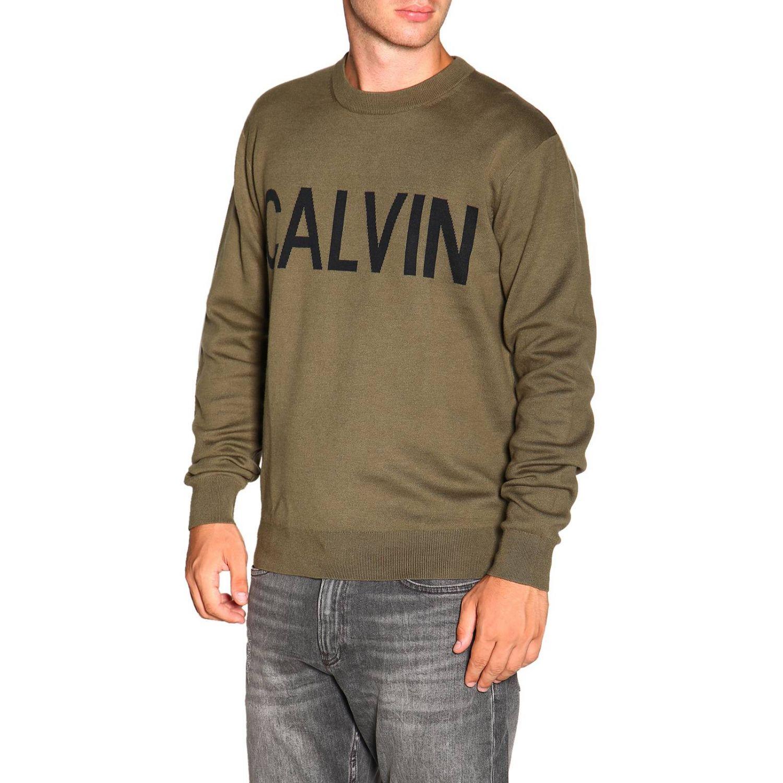 毛衣 男士 Calvin Klein Jeans 军绿色 4