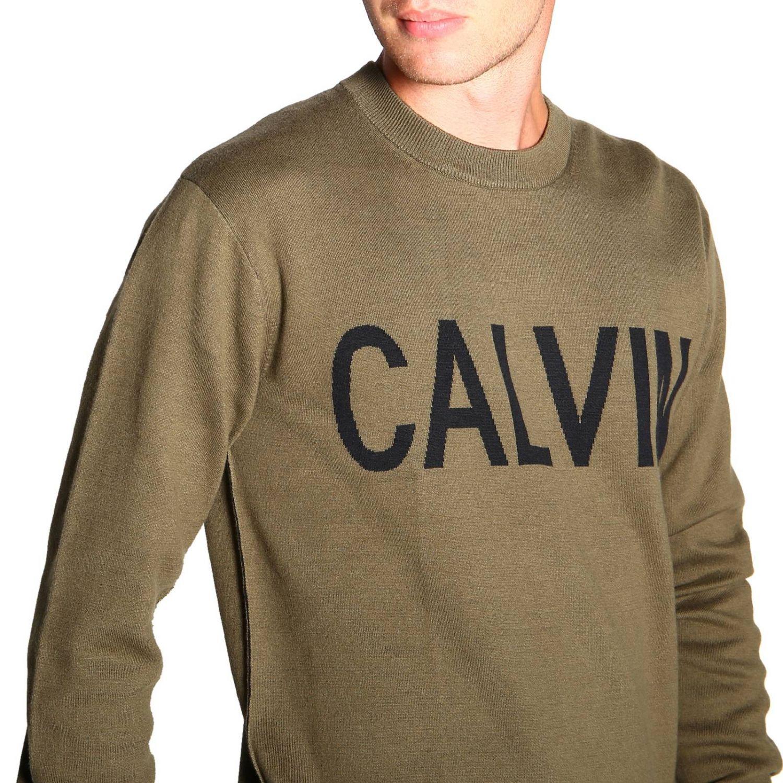 毛衣 男士 Calvin Klein Jeans 军绿色 5