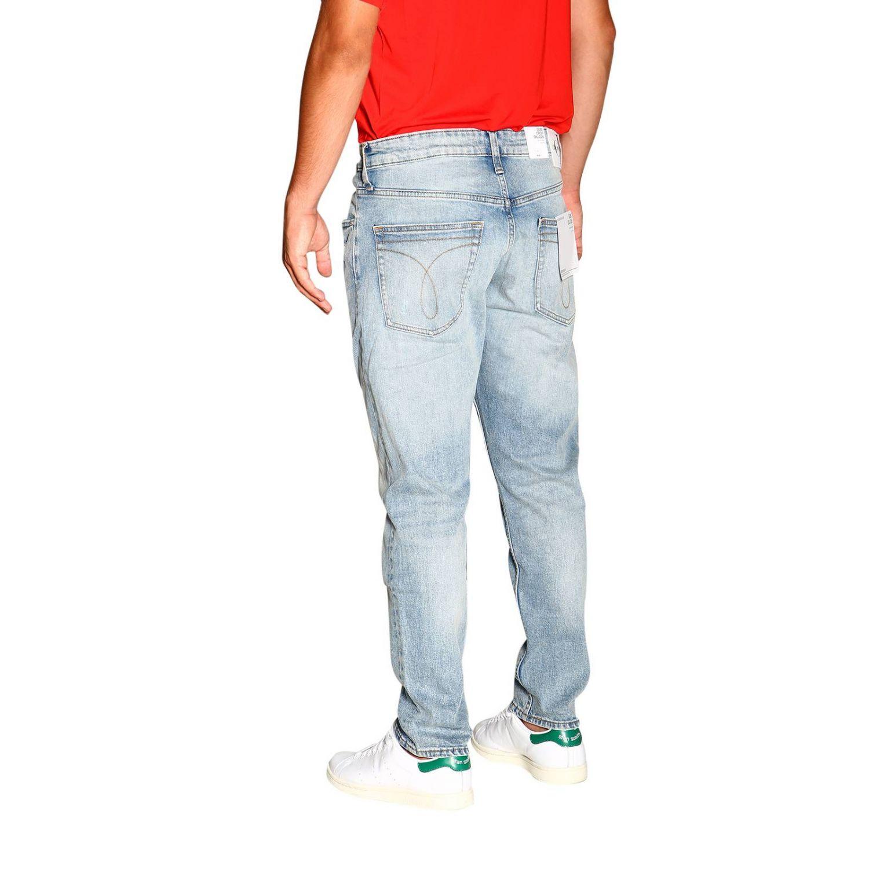 Джинсы Calvin Klein Jeans: Джинсы Мужское Calvin Klein Jeans потертый джинс 3