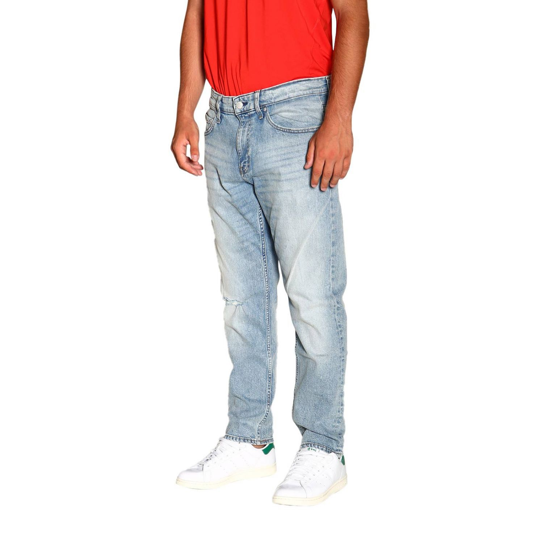 Джинсы Calvin Klein Jeans: Джинсы Мужское Calvin Klein Jeans потертый джинс 4