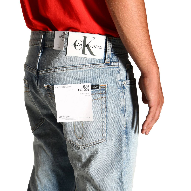 Джинсы Calvin Klein Jeans: Джинсы Мужское Calvin Klein Jeans потертый джинс 5