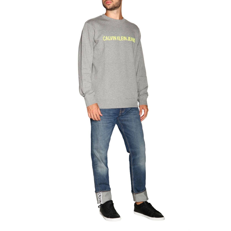 Джинсы Calvin Klein Jeans: Джинсы Мужское Calvin Klein Jeans серо-бежевый 2