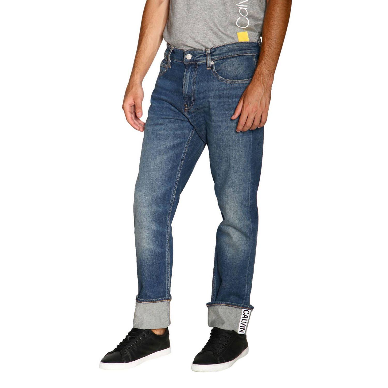 Джинсы Calvin Klein Jeans: Джинсы Мужское Calvin Klein Jeans серо-бежевый 4
