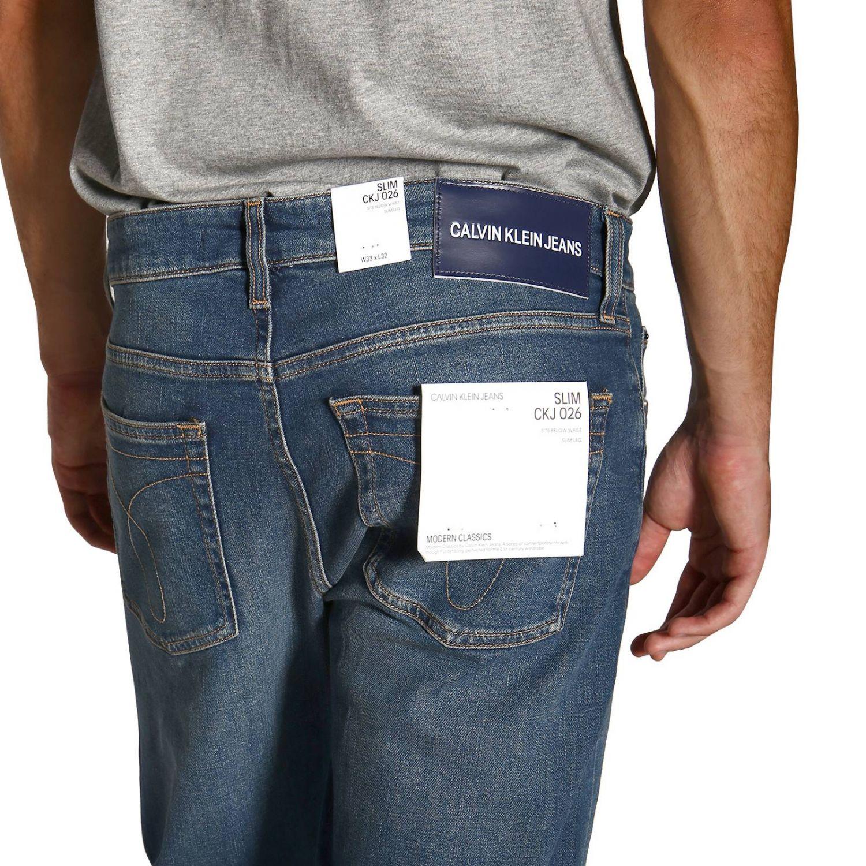 Джинсы Calvin Klein Jeans: Джинсы Мужское Calvin Klein Jeans серо-бежевый 5