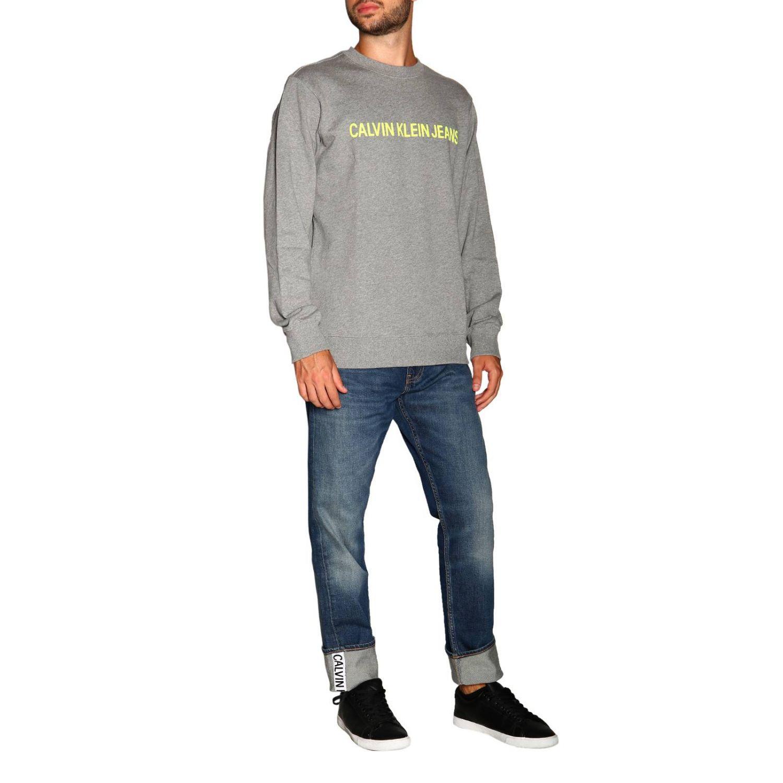 Свитер Calvin Klein Jeans: Свитер Мужское Calvin Klein Jeans серый 2