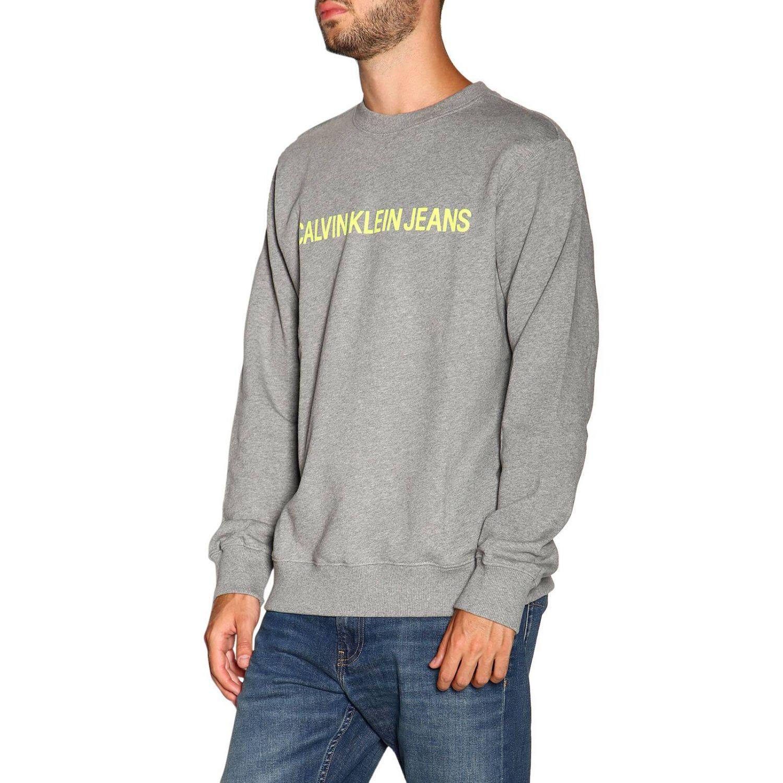 Pull Calvin Klein Jeans: Pull homme Calvin Klein Jeans gris 4