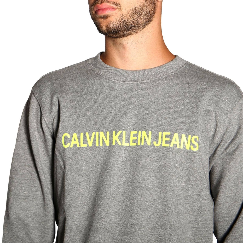 Pull Calvin Klein Jeans: Pull homme Calvin Klein Jeans gris 5