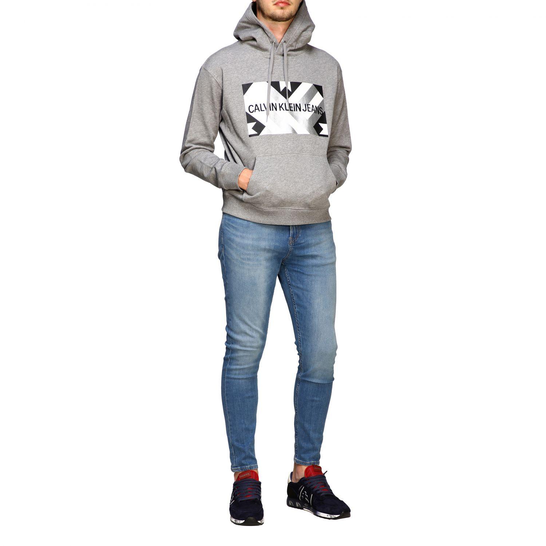 Sweatshirt Calvin Klein Jeans: Sweater men Calvin Klein Jeans grey 2