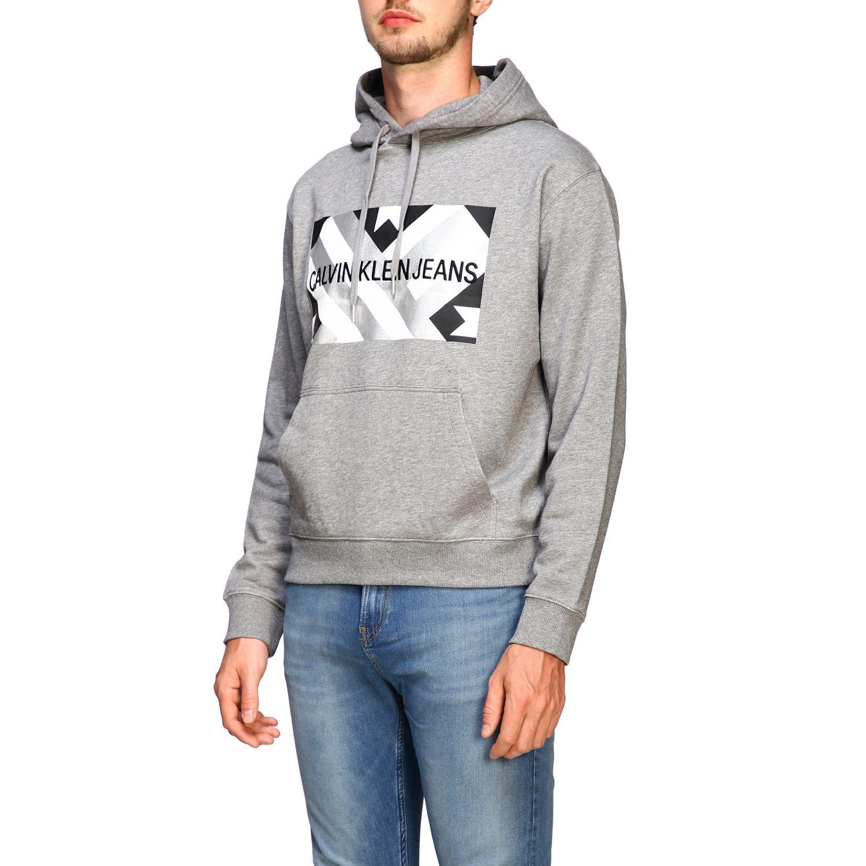 Sweatshirt Calvin Klein Jeans: Sweater men Calvin Klein Jeans grey 4