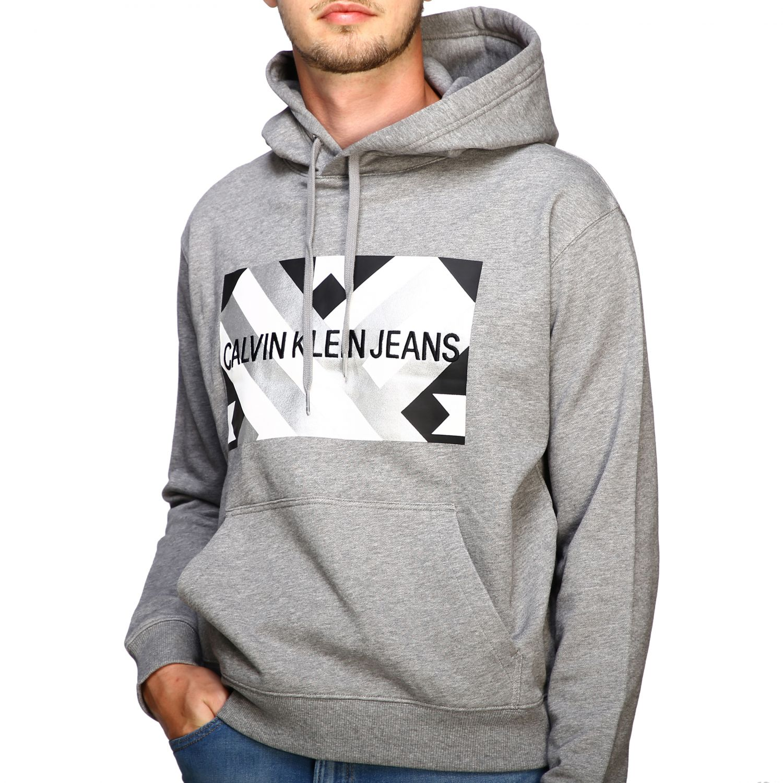 Sweatshirt Calvin Klein Jeans: Sweater men Calvin Klein Jeans grey 5