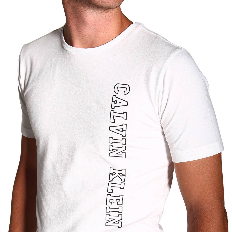 T-shirt Calvin Klein Jeans: T-shirt men Calvin Klein Jeans white 5