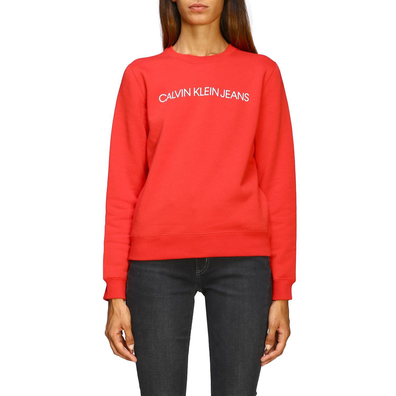 Sweatshirt Calvin Klein Jeans: Jumper women Calvin Klein Jeans blue 1