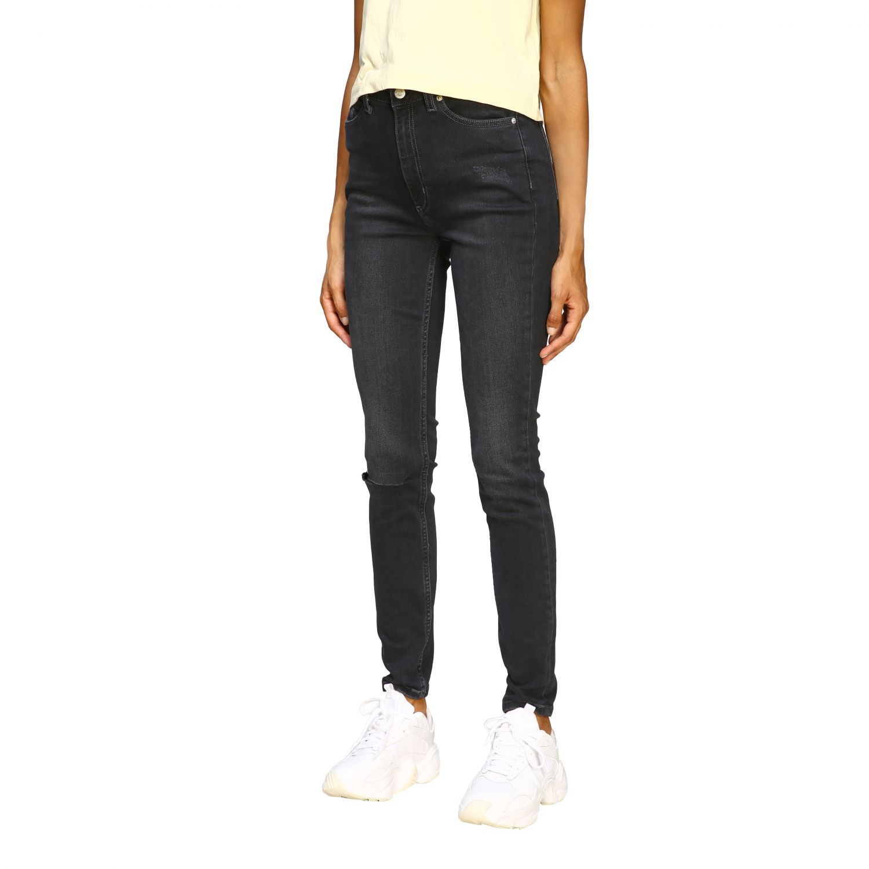 Jeans Calvin Klein Jeans: Jeans women Calvin Klein Jeans black 4
