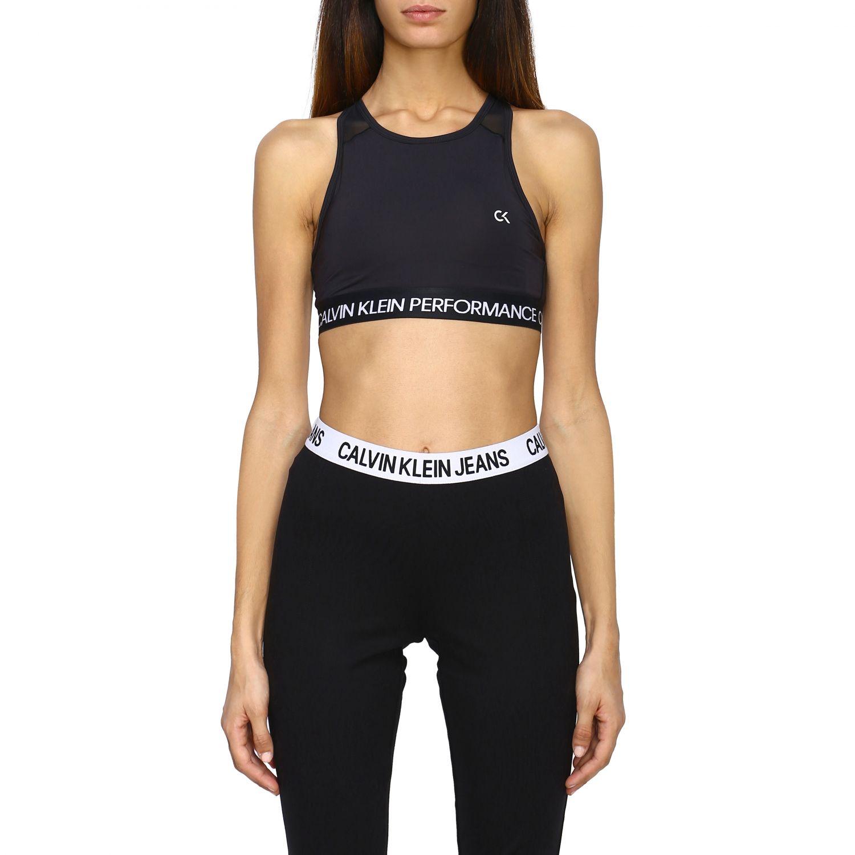 Top women Calvin Klein Performance black 1