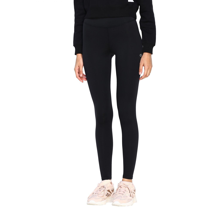 Pants women Calvin Klein Performance black 4